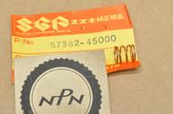 NOS Suzuki FA50 GN400 GS550 GS650 GS750 OR50 SP250 SP400 SP500 SP600 TS100 Contact Spring 57382-45000