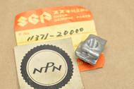 NOS Suzuki 1971 T125 II T125R Clutch Cable Adjuster Holder 11371-20000