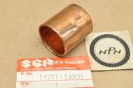 NOS Suzuki DR125 LT250 R RM250 SP125 Exhaust Muffler Pipe Gasket Tube 14771-14600