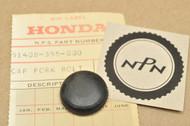 NOS Honda TL125 K0-K1 Fork Bolt Cap 51408-355-000