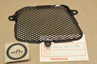 NOS Honda 1984 VF1000 F Interceptor Left Side Air Duct Screen Cover 64114-MB6-000