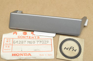 NOS Honda 1986 GL1200 Gold Wing Aspencade Silver Left Lower Cowling Air Guide Panel 64287-MG9-770 ZP