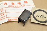 NOS Honda 1980-83 GL1100 Gold Wing 1981-82 GL500 Silver Wing Fairing Molding End Cap 64207-MB9-770