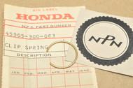 NOS Honda CB350 CB360 CB450 CB500 CB750 Brake Master Cylinder Boot Stopper Clip 45505-300-003