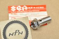 NOS Suzuki DR250 GN250 GS1150 GS550 GSX-R1100 GSX-R750 RM250 RM80 SP200 SP250 Brake Hose Bolt 09360-10017