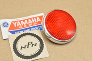 NOS Yamaha AT1 DS7 DT2 DT3 G6 G7 HS1 HT1 JT2 LS2 LT2 R5 RT1 RT2 RT3 TX650 XS1 XS2 Red Reflector 278-85111-00