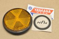 NOS Yamaha DT175 DT250 DT360 DT400 RD250 RD350 RD400 SRX600 RD125 RD200 RD400 Fork Reflector 355-85111-01