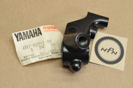 NOS Yamaha 1981-83 XV750 Virago 1980-83 XJ650 Left Handle Bar Clutch Lever Perch Mount Bracket 4H7-82911-00