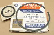 NOS Yamaha 1970-71 RT1 0.50 Oversize Piston Ring for 1 Piston = 1 Ring 284-11611-20