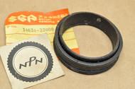 NOS Suzuki 1972-77 TS400 Exhaust Muffler Pipe Rubber Gasket 14634-32000