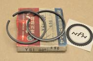 NOS Yamaha YG1 0.50 Oversize Piston Ring Set for 1 Piston = 2 Rings 122-11610-20