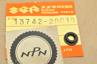 NOS Suzuki GT500 T500 TM250 TM400 Air Cleaner Rubber Seal Gasket 13742-29010