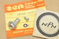 NOS Suzuki F50 MT50 TC125 TS50 Oil Pump Banjo Union Bolt 16760-19001