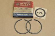 NOS Yamaha YG1 Standard Piston Ring Set for 1 Piston = 2 Rings 122-11610-00 A