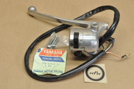 NOS Yamaha 1973-75 RD60 Left Handle Bar Light Turn Control Switch Lever Holder Assembly 388-82910-01