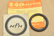NOS Suzuki 1973-77 TC100 TS100 Carburetor Inlet O-Ring 09280-26002