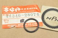 NOS Suzuki DR250 GN400 GT185 RM125 SP370 SP400 TC125 TM125 TM250 TS400 TS75 Petcock O-Ring 44346-28070