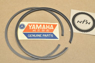 NOS Yamaha RT2 RT3 1.00 Oversize Piston Ring Set for 1 Piston = 2 Rings 308-11610-40