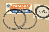 NOS Yamaha YG1 1.00 Oversize Piston Ring Set for 1 Piston = 2 Rings 122-11610-40