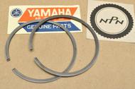 NOS Yamaha 1972 LT2 LT2 M 0.75 Oversize Piston Ring Set for 1 Piston = 2 Rings 305-11601-30