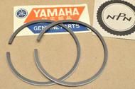 NOS Yamaha 1972 LT2 LT2 M 1.00 Oversize Piston Ring Set for 1 Piston = 2 Rings 305-11601-40
