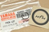 NOS Yamaha CS3 CS5 DT100 HT1 L5 LT2 MX100 RD200 RS100 YCS1 YL2 YLCM Circlip 93450-15023