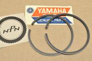 NOS Yamaha YL2 0.50 Oversize Piston Ring Set for 1 Pistons = 2 Rings 166-11601-21