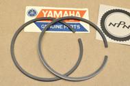 NOS Yamaha 1965 YM1 1966 YM1S 0.75 Oversize Piston Ring Set for 1 Piston = 2 Ring 159-11601-30