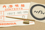 NOS Honda 1977-78 XL350 Carburetor Needle Jet Set 16012-385-680
