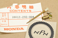 NOS Honda CB450 K1-K4 CL450 K2-K4 Carburetor Needle Jet Set 16012-292-004