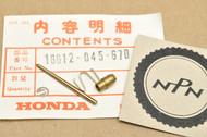 NOS Honda Z50 K0-K2 Carburetor Needle Jet Set 16012-045-670