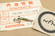 NOS Honda ATC185 ATC200 TR200 XL100 XL125 XL185 XL200 XR100 XR200 Carburetor Screw Set 16028-402-004