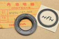 NOS Honda NA50 NC50 NH125 NH80 NU50 NX50 Oil Seal 91254-187-005