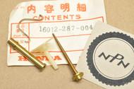 NOS Honda CB350 K0 CL350 K0 Carburetor Needle Jet Set 16012-287-004