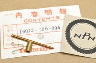 NOS Honda CB175 K3-K5 Carburetor Needle Jet Set 16012-306-004