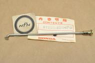 "NOS Honda 1980-82 CM200 T Twinstar 1982-83 CM250 Rear Wheel Spoke ""B"" & Nipple 97285-52114-P0"
