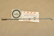 """NOS Honda 1980 CR125 R 1978-80 CR250 R Elsinore Front Wheel Spoke """"B"""" & Nipple 97284-52231-Q0"""