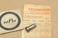 NOS Honda ATC90 CL90 CT90 S90 SL90 ST90 Oil Pump Drive Shaft 15181-028-050