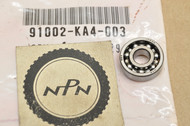 NOS Honda CR125 R CR250 R CR500 R Elsinore Crank Case Radial Ball Bearing 91002-KA4-003