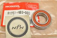 NOS Honda 1986-88 TRX200 SX Fourtrax Front Wheel Radial Ball Bearing 91051-HB3-000