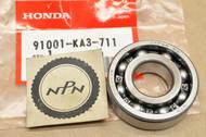 NOS Honda 1983-2003 CR125 R Crank Case Radial Ball Bearing 91001-KA3-711