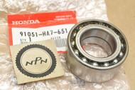 NOS Honda 1988-89 TRX350 Fourtrax Knuckle Ball Bearing 91051-HA7-651
