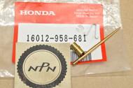 NOS Honda ATC200 E ATC250 ES Big Red ATC200M TRX200 SX Carburetor Needle Jet Set 16012-958-681