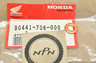 NOS Honda ATC250 CB750 CBX CR250 GL500 TRX250 VT1100 XL350 XR250 XR500 Sealing Washer 90441-706-000