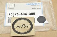 NOS Honda 1989-90 GB500 GL1500 Gold Wing Inside Panel Seal 75826-634-300