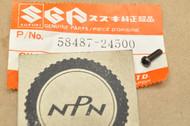NOS Suzuki 1985-86 LT230 1986-87 LT-F230 Cable Control Knob Handle Screw 58487-24500