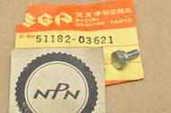 NOS Suzuki M15 K10 K15 A100 AC100 T250 T305 T350 T500 TC120 TC250 TC305 Fork Drain Plug Bolt 51182-03621