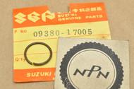 NOS Suzuki 1971 F50 1973 MT50 1973-77 TC100 Drive Gear Circlip 09380-17005