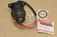 NOS Yamaha 1974-76 RD200 Ignition Switch & Key 397-82508-11