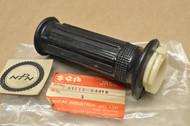 NOS Suzuki 1985-87, 93-95, 2000-04 JR50 Throttle Grip with Tube 57110-04410